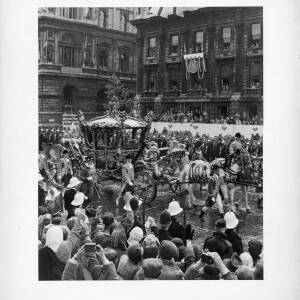 "281 - Coronation Coach ""June 2nd 1953 - Whitehall"""