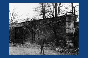 Church House:  Late sixteenth century walls