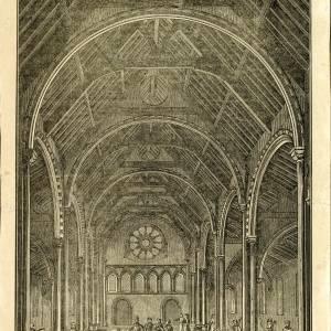 Bishop's Palace, Hereford, interior