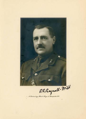 1917-18: Brigadier-General Ralph Kirkby Bagnall-Wild