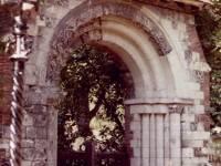 St. Mary's Parish Churchyard: Former Priory arch