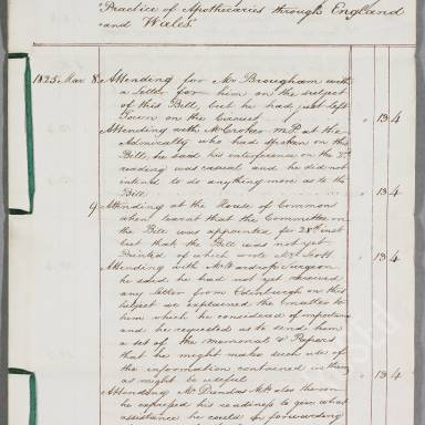 The Royal College of Surgeons of Edinburgh in the Matter of the Surgeons Apothecaries Act, 1825 (1)