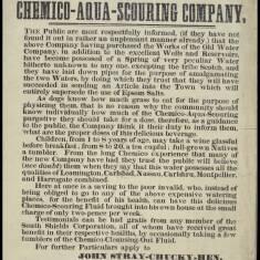 Chemico-Aqua-Scouring Company