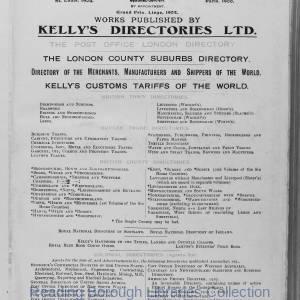 Kelly's Directory of Berkshire, Buckinghamshire & Oxfordshire. 1920. Kelly's Advertisement