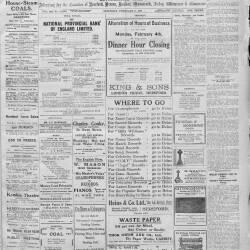 Hereford Journal - 9th February 1918