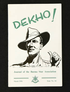 DEKHO! The Journal of The Burma Star Association - Issue No. 014, Year 1956