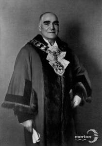 Alderman J.S. Holland Abbott, Mayor of Wimbledon