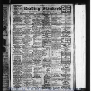 Reading Standard Etc 07-1916