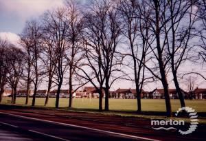 London Road, Mitcham: showing Figges Marsh