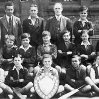 Linacre School cricket team, Bootle, 1933
