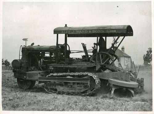 Twin rotary plough
