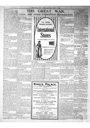 1 JUNE 1918