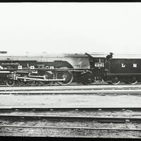"Steam locomotive 6251 ""City of Nottingham"""