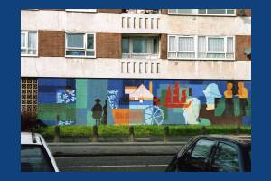 High Path estate: Mural at May Court