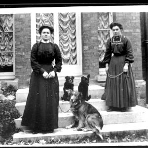 G36-127-13 Portrait of two ladies with dogs.jpg