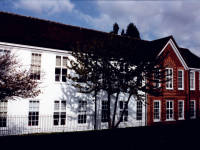 Garth High School, Lilleshall Road, Morden: North Block