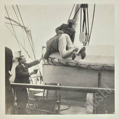 Taking Refuge Upon The Life Boat, Martin, Finney And Bevan