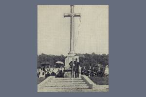 Memorial cross, Kingston Vale