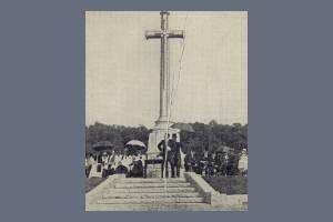 Memorial cross, Kingston Vale