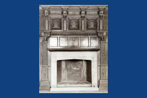 First floor fireplace, Cannizaro House, Wimbledon