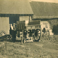 Village blacksmith and wheelwright