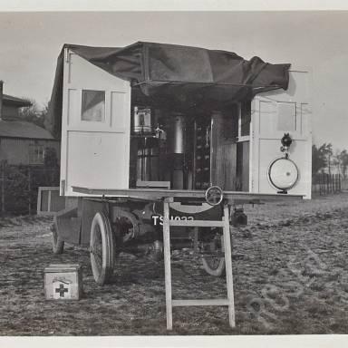 Album 2 - Surgical Operating Car and Camp Life at Bedlington