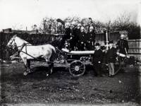 Wimbledon Fire Brigade: Horses and pump