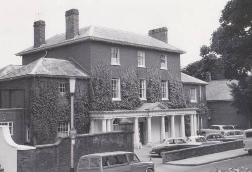 Southernhay House, photograph, c1960, Exeter
