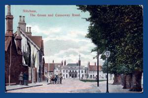 Causeway Road: The Green, Mitcham