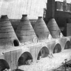 1920s Dunstable Lime Co Ltd Works Sewell Large Lime Kilns