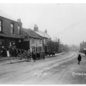 Ecclesfield Village, High Street, opposite Well Lane