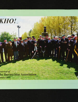 DEKHO! The Journal of The Burma Star Association - Issue No. 183, Year 2016