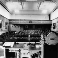1 Birdcage Walk, lecture theatre c.1940 (2)