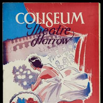 Coliseum Theatre, Harrow, February 1951