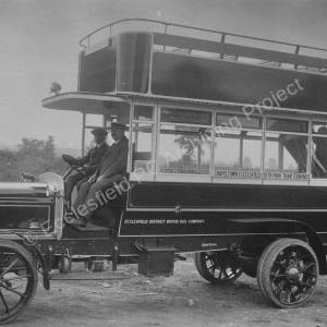 Ecclesfield District Motor Bus Company, Chapeltown to Firth Park service