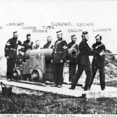3rd Durham Artillery: First Drill