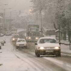 Westoe Road in Winter