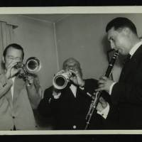 Humphrey Lyttelton and Sidney Bechet (left to right)
