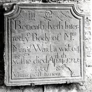 Eye Church, Marjorie Ward memorial tablet