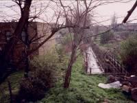 High Street, Colliers Wood: Tooting side of railway bridge