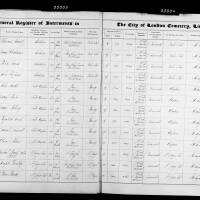 Burial Register 27 - August 1875 to April 1876