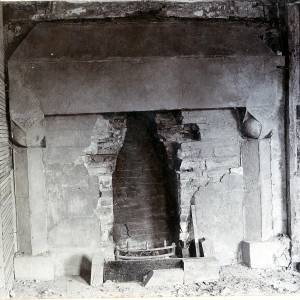 Wellbrook Manor, interior chimney piece