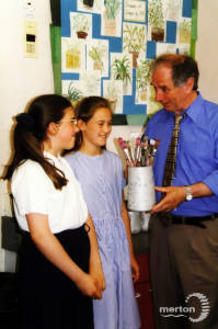 William Morris Middle School: Johnny Ball Visits