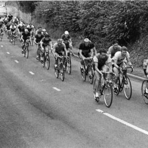 A cycling road race.