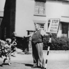 1950s Mr William T Higgs Crossing Patrol