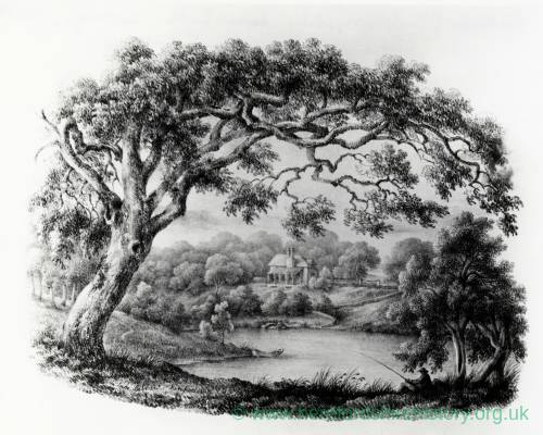 The Lake Belmont with cottage