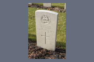 Gravestone of Lance Corporal William James Gillard Smith
