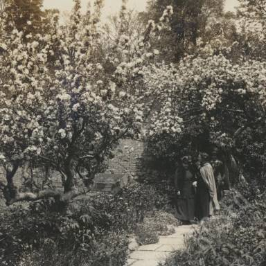 Garden in Spring - Chalice Well.jpg