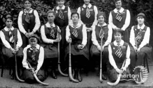 Wimbledon County School for Girls: Hockey Team