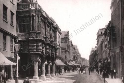 Exeter High Street, c1900,Exeter